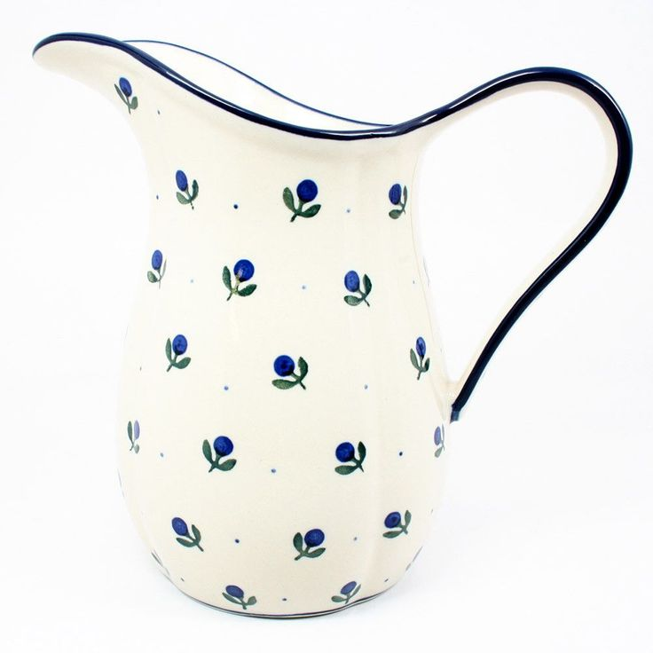 """7"""" x 4"""" - Quality 1 Guaranteed from the renowned Ceramika Artystyczna Boleslawiec - Polish Pottery is Oven, Microwave, and Dishwasher Safe! - Hand Painted and Stamped by Highly Skilled Artisans - Crac"""
