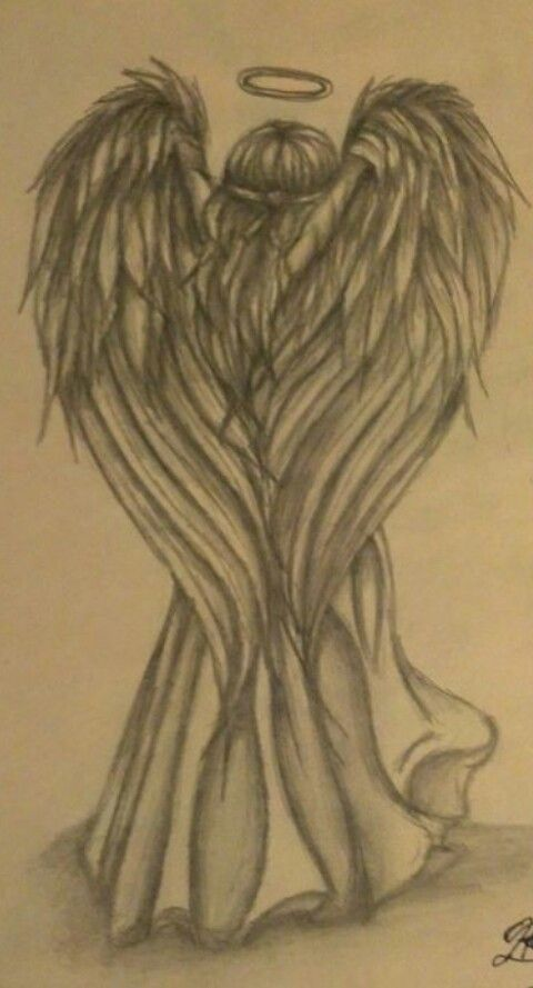 angel...in memory of my grandma who collected them! <3 #TattooIdeasInMemoryOf