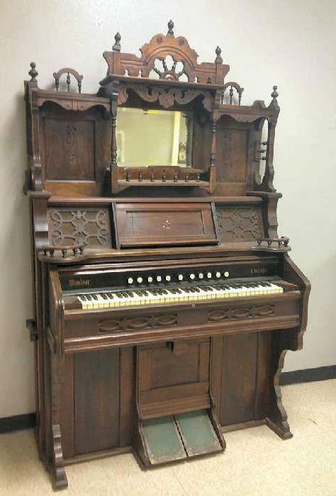 Antique Piano Home Garden Pinterest Pump Over The