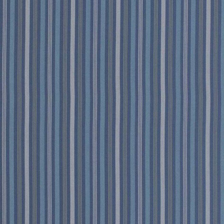 Warwick Fabrics : CALLUM, Colour OCEAN