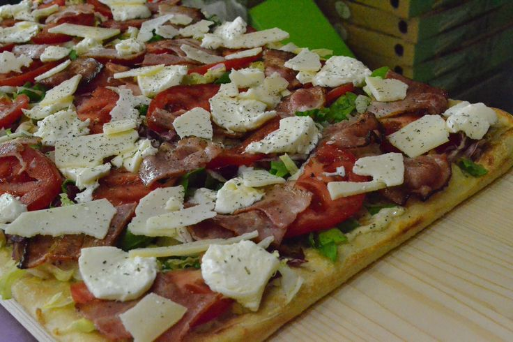Pizza / Green Fresh ''Lattuga''