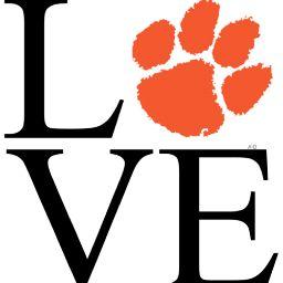Love Clemson...that's an understatement!!