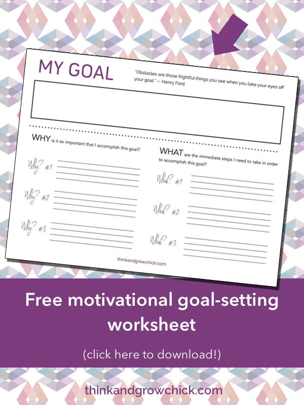 1000 ideas about goal settings on pinterest goal setting worksheet how to set goals and time. Black Bedroom Furniture Sets. Home Design Ideas