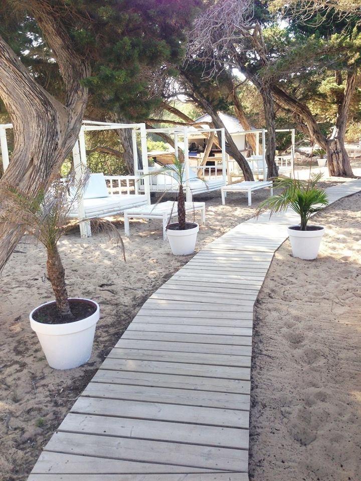 Calla bassa beach club Ibiza