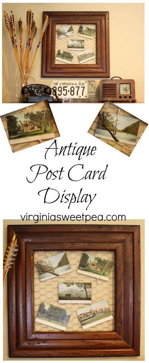 Antique Post Card Display - Display antique post cards so they can be enjoyed. virginiasweeptea.com