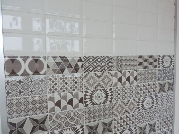 Oltre 20 migliori idee su bagni in piastrelle bianche su - Piastrelle diamantate cucina ...