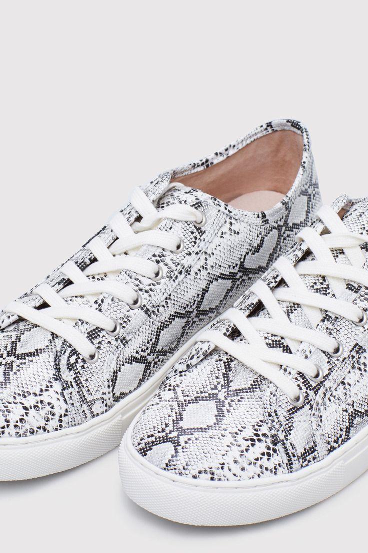 Bamba tejido serpiente | Zapatos | Cortefiel