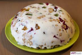 Торт - желе Битое стекло - фото рецепт.