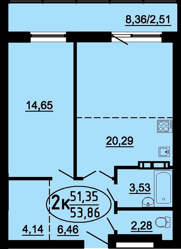Двухкомнатная квартира в новостройке #Пермь ул. Пушкарская, 142 отделка под ключ #продажа #ипотека с господдержкой