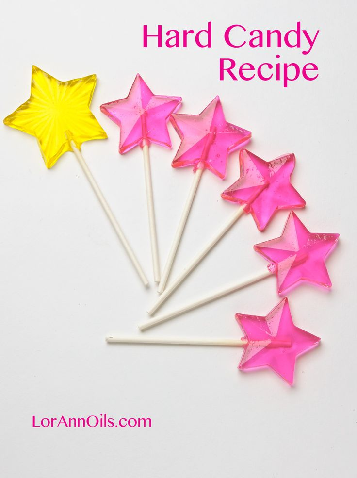 Lollipop and Hard Candy Recipe
