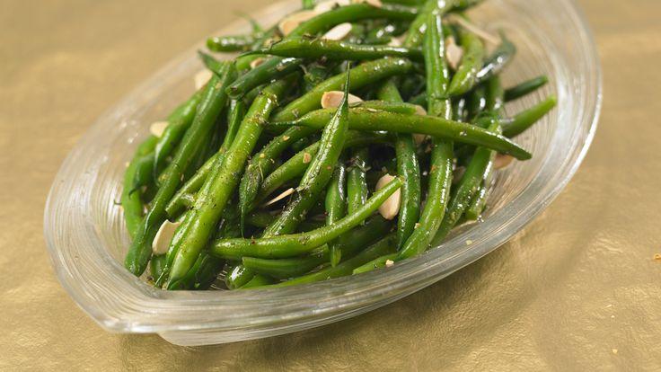 Steamer Green Bean Salad with Almonds