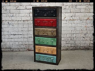 Retro Suitcase Storage Unit