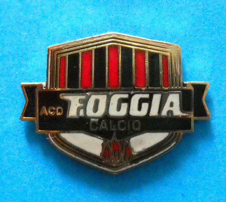 DISTINTIVO SPILLA PIN - A.C.D. FOGGIA CALCIO  - cod. 643