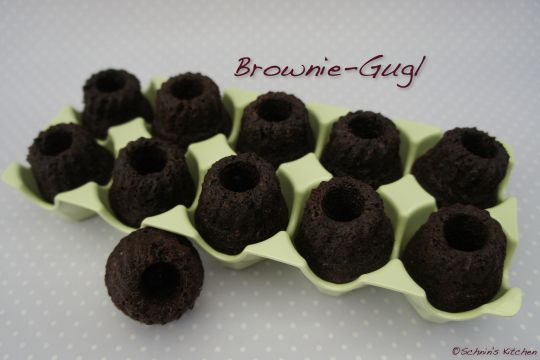 Schnin's Kitchen: Brownie-Gugl (nach Cynthia Barcomi)