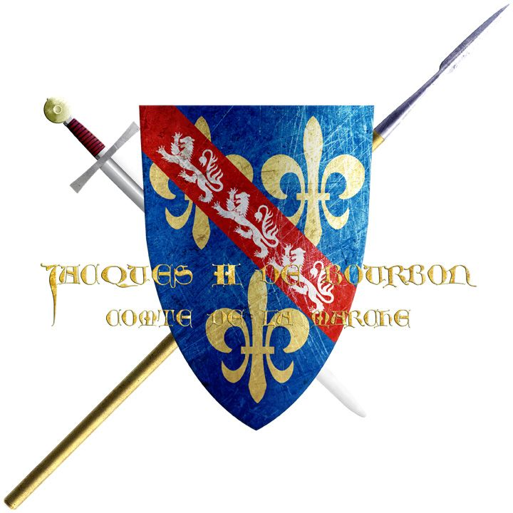 Jacques II de Bourbon. This Comte de La Marche, the last Scion of his line, departed for the crusade of Nicopolis. On the 25th of September in 1396, after the battle's loss at Nicopolis, he was captured by the Ottomans.