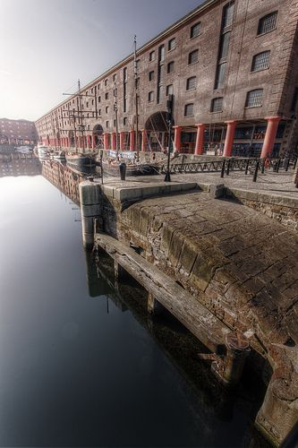 Liverpool Docks #industrial