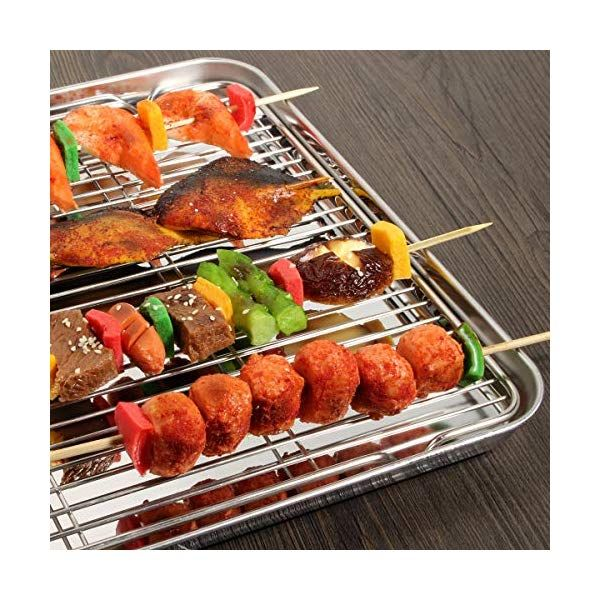 Wildone Baking Sheet Amp Rack Set 2 Sheets 2 Racks