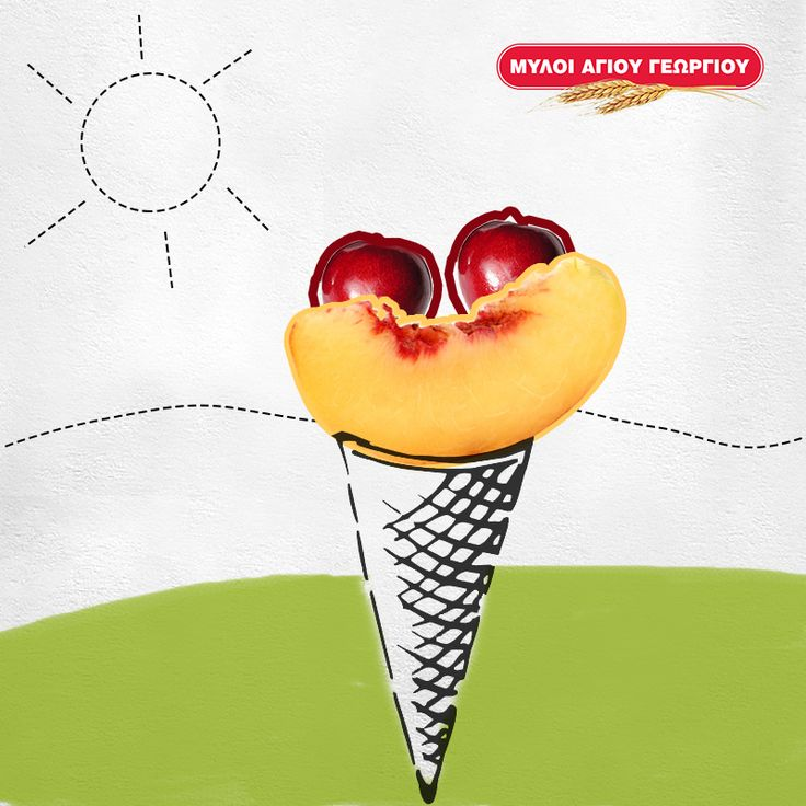 Πόσα παγωτά έχει φάει μέχρι στιγμής το μικρό σας; Προτείνετέ του να δοκιμάσει κάτι πιο υγιεινό αλλά εξίσου όμορφο! Σερβίρετέ του φρουτάκια όπως φέτες πεπονιού, ροδάκινου και κεράσια μέσα σε ένα χωνάκι παγωτού! Θα το ευχαριστηθεί εξίσου! #myloiagiougeorgiou #recipes #fruits #icecream #summertime