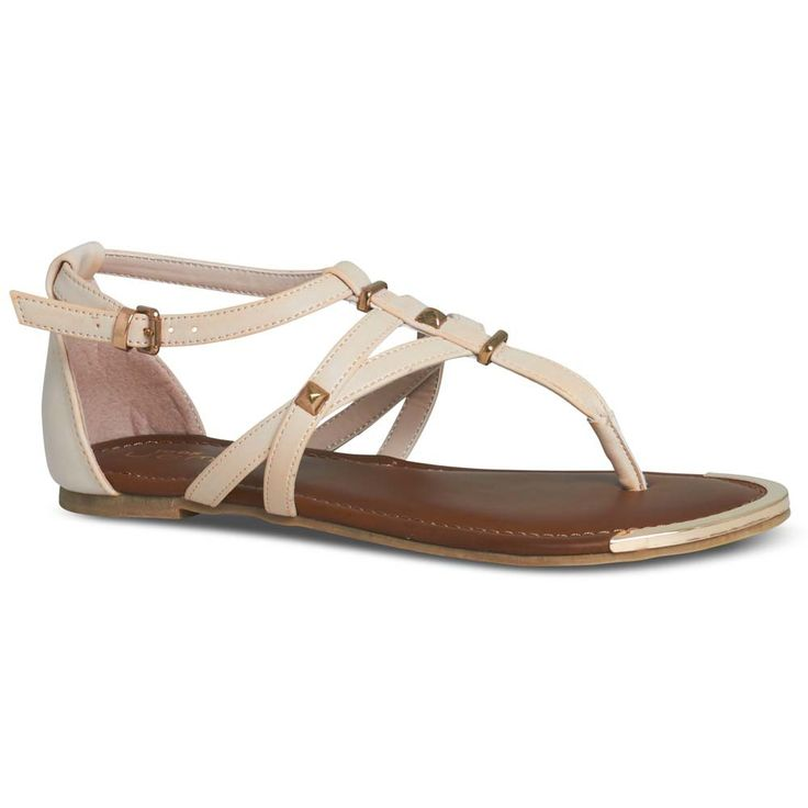 Sammi Nude Summer Sandal by NEW LOOK | Payless Shoes Australia