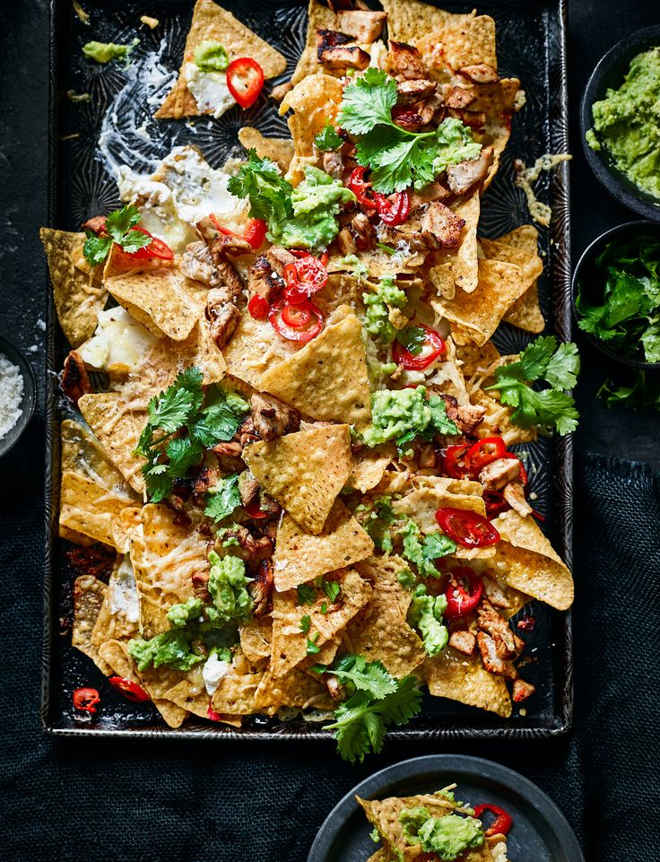 We can't wait to dig into this sweet chilli chicken nachos recipe from the Not Plant Based bloggers. This delicious dish is great for sharing with friends