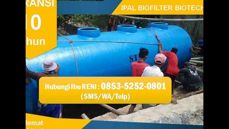 IPAL STP Biofilter | Biotech Septic Tank Bergaransi | 0853-5252-0801