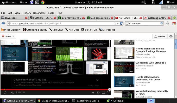 Flashplayer 11 plugin debug 32bit Kali linux tutorials