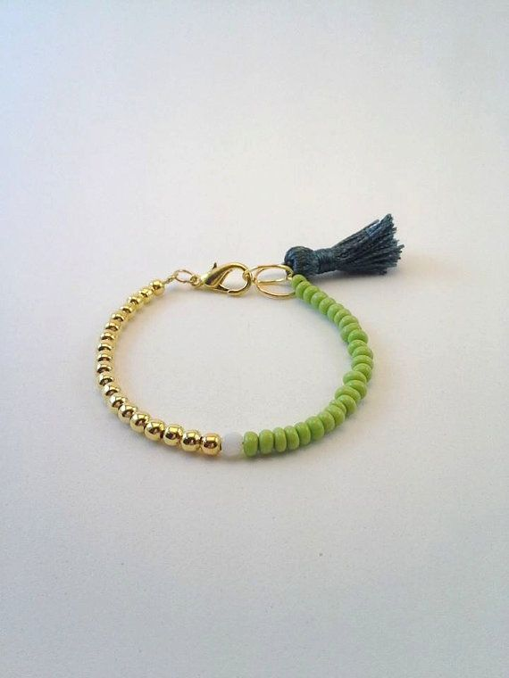 Lovely Mixedmedia Handmade Bracelet by TresJoliePT on Etsy, €7.00