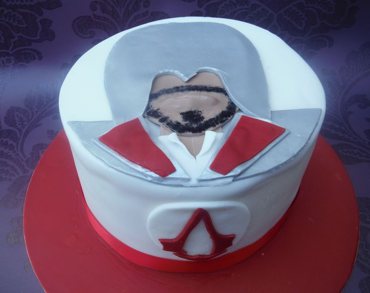 Cake Design Assassin S Creed : 17 Best images about Twins Party on Pinterest Nintendo ...