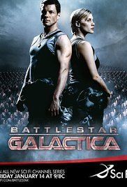 Battlestar Galactica - Technically it's a TV show, but it's awesome!