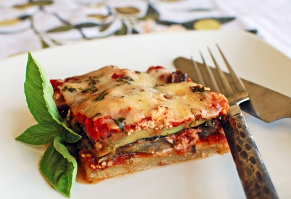 Grilled Eggplant and Zucchini Parmesan | For the Love of Pasta | Pint ...