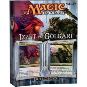 Sealed Izzet vs Golgari Duel Deck MTG Duel Deck DD IvG NEW Kid Icarus