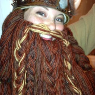 How To Grow Your Own Epic Dwarf Beard In One Evening! Yarn Dwarf Beard Tutorial