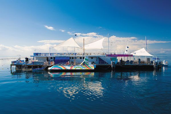Reefworld- Stay overnight on the Great Barrier Reef with a Reefsleep experience