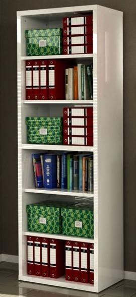 Libreria modulare armadiatura ufficio bianco laccato  Art. CPSLB7070K30404    Dimensioni LxHxP 80x220x36 cm  Spessore 38 mm per la struttura,25 mm per i top  Colore Laccato bianco  Peso Imballaggio 85 Kg    QUESTI ARTICOLI VENGONO FORNITI IN KIT DI ASSEMBLAGGIO, COMPLETI DI ISTRUZIONI PER IL MONTAGGIO