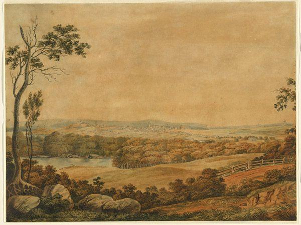 Joseph LYCETT, not titled [Sydney from Parramatta Road]