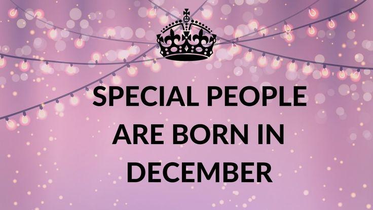 Happy Birthday December Best 25+ Decemb...