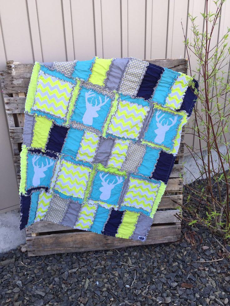 Baby Boy Cribs: Woodland Baby Boy Crib Bedding