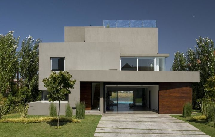 The Waterfall House by Andres Remy Architects