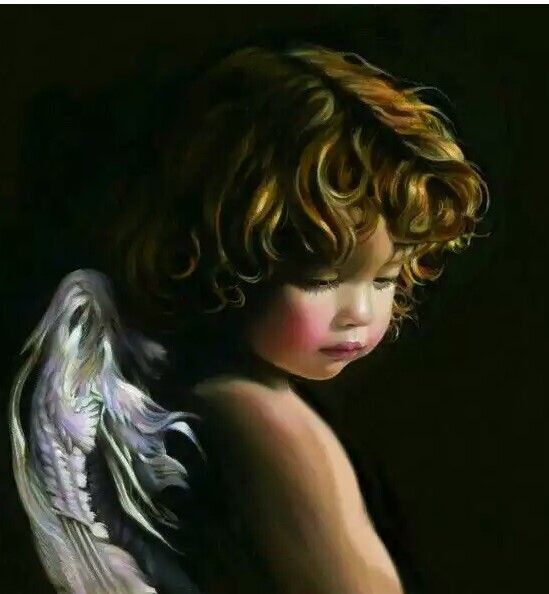 Oltre 25 idee originali per dipinti con angeli su for Quadri con angeli