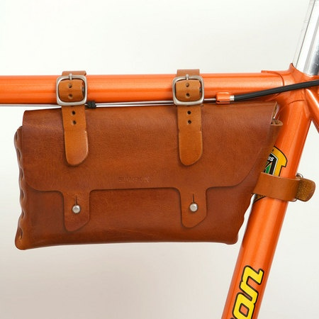 Billy Kirk Bike Frame Bag (Tan) ($100-200) - Svpply