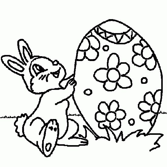 coloriage de coloriage paques dessin lapin gratuit paques pinterest. Black Bedroom Furniture Sets. Home Design Ideas