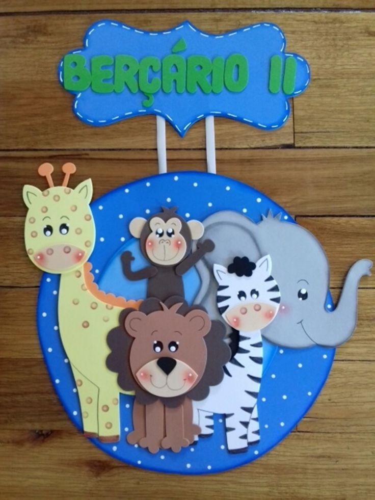 Placa De Porta Safari Em 2020 Enfeites De Natal Safari