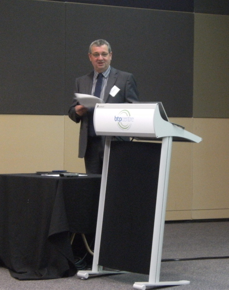 Presenting at e2 breakfast in Brisbane