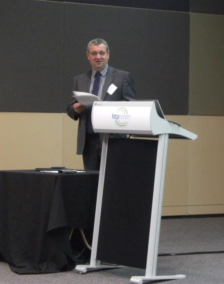 Presenting at e2 breakfast in Brisbane