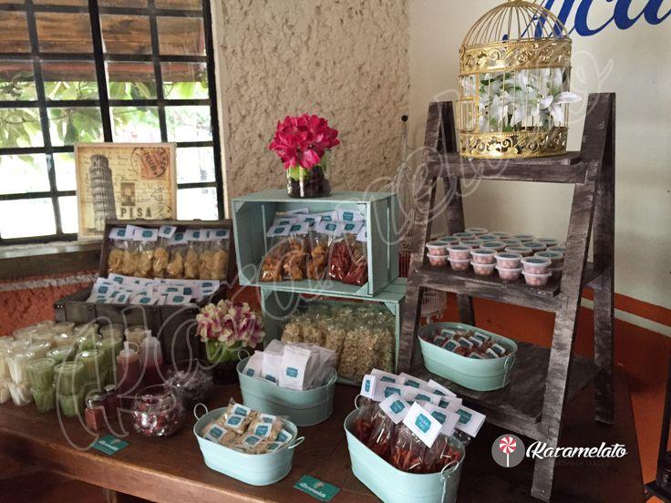 Mesa de Dulces Candy Bar