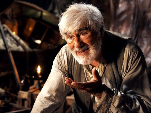 Mario Adorf plays Gepetto in the ARD film Pinocchio.  In the AZ he talks about his Christmas.  Photo: WDR / Bernd Spauke
