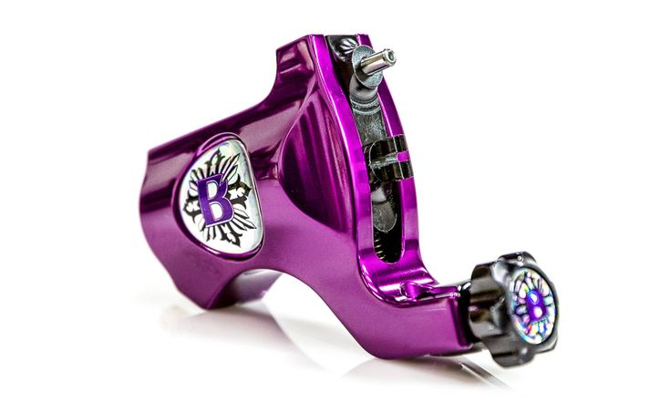 Bishop Rotary Tattoo Machine in Beatnik Purple : Tattoo Supplies - Wholesale Tattoo Equipment, Tattoo Ink Supplies, Machines, Needles