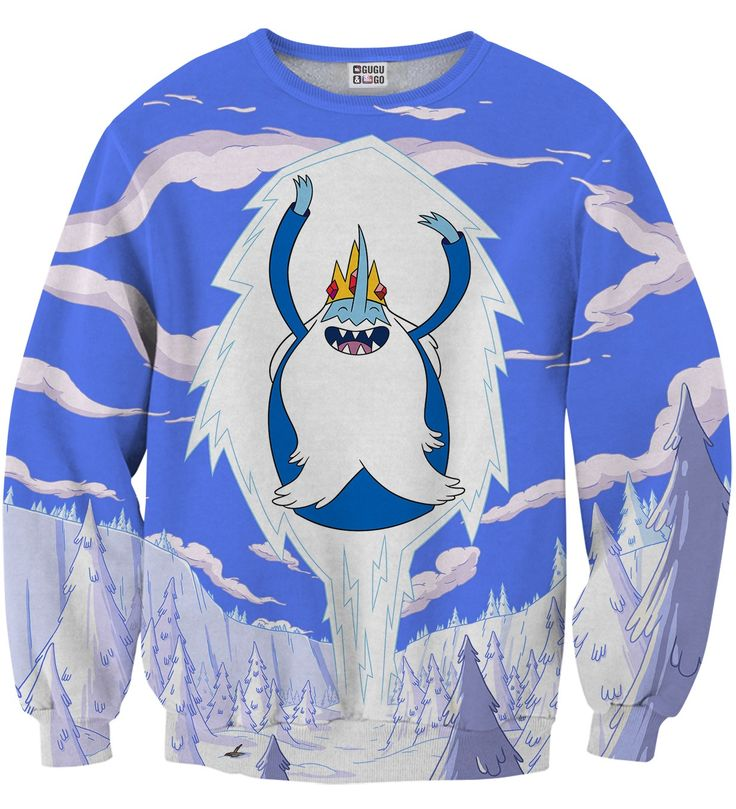 Ice King Attack sweater, Mr. GUGU & Miss GO