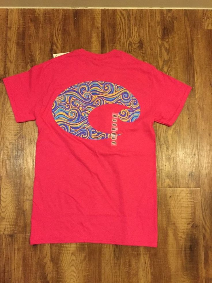 Women's Costa Del Mar Pink T-Shirt with Logo Size S #costadelmar #GraphicTee