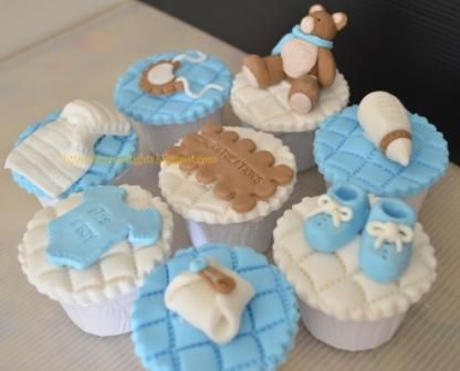 Sam S Club Baby Shower Cup Cakes Azyandelights Baby